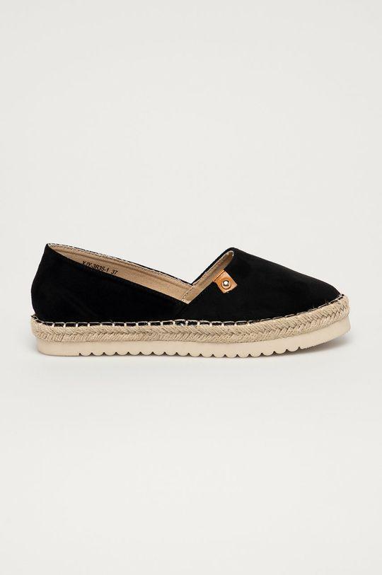 černá Answear Lab - Espadrilky Best Shoes Dámský