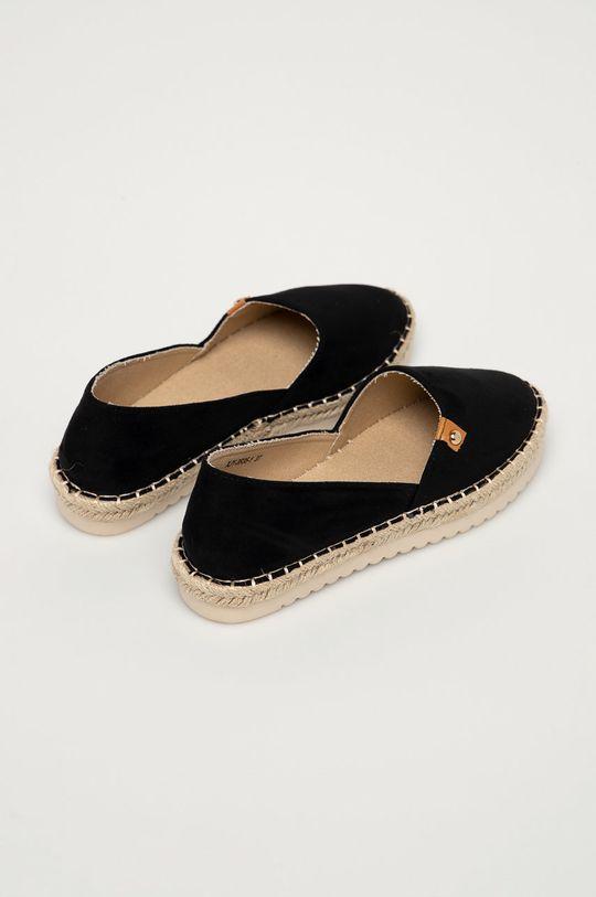 Answear Lab - Espadrilky Best Shoes  Svršek: Textilní materiál Vnitřek: Textilní materiál Podrážka: Umělá hmota