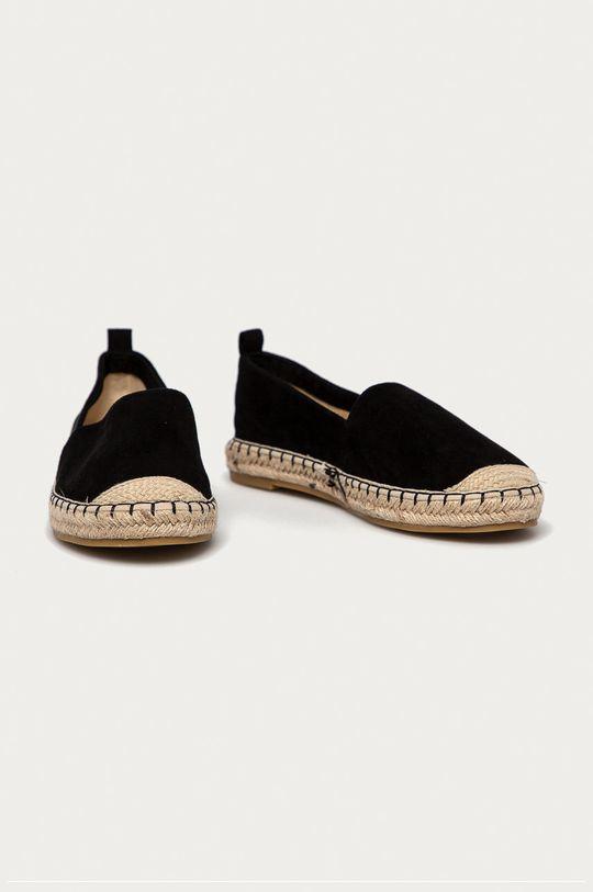 Answear Lab - Espadrilky Best Shoes černá