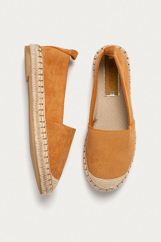 zlatohnědá Answear Lab - Espadrilky Best Shoes