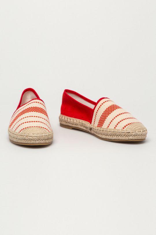 Answear Lab - Espadryle Best Shoes czerwony