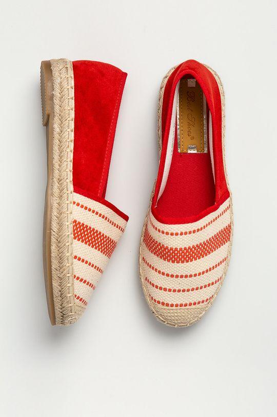 Answear Lab - Espadryle Best Shoes Cholewka: Materiał tekstylny, Wnętrze: Materiał syntetyczny, Materiał tekstylny, Podeszwa: Materiał syntetyczny