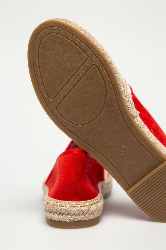 czerwony Answear Lab - Espadryle Best Shoes