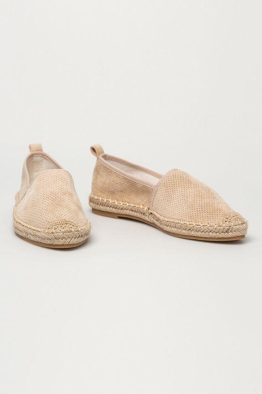 Answear Lab - Espadryle Best Shoes beżowy