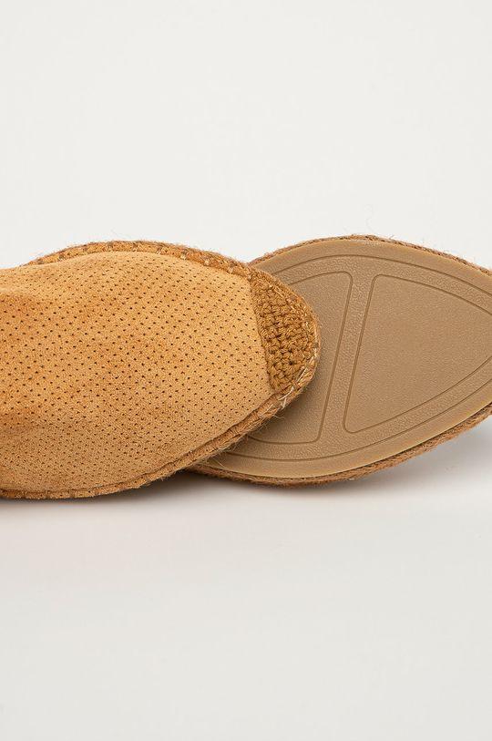 złoty brąz Answear Lab - Espadryle Best Shoes