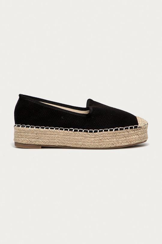 czarny Answear Lab - Espadryle Best Shoes Damski
