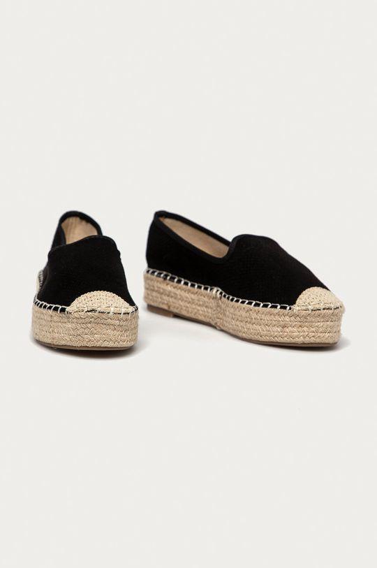 Answear Lab - Espadryle Best Shoes czarny