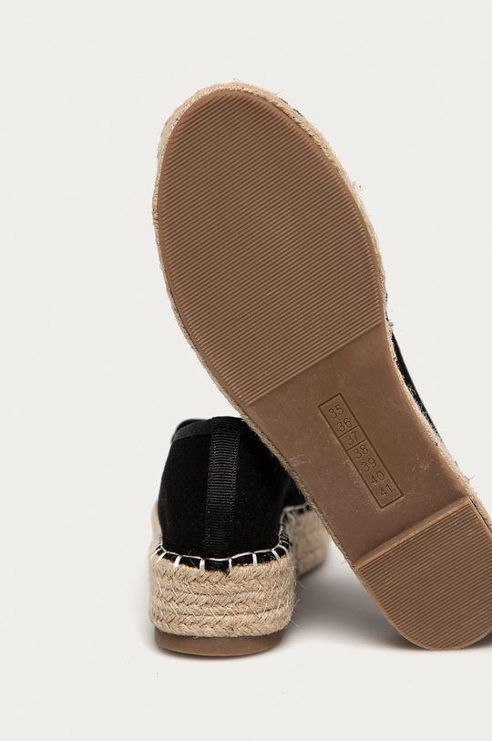 czarny Answear Lab - Espadryle Best Shoes