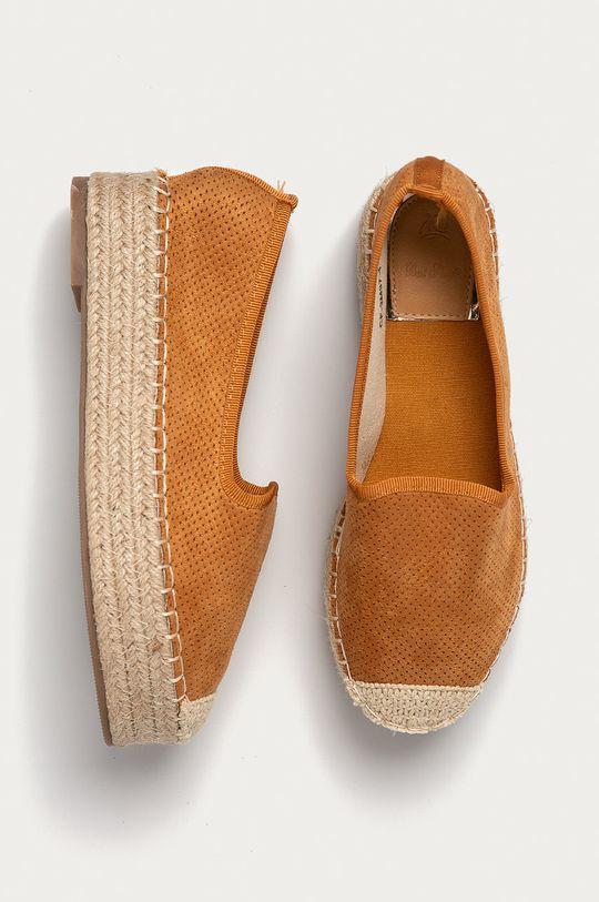 Answear Lab - Espadrilky Best Shoes  Svršek: Textilní materiál Vnitřek: Umělá hmota, Textilní materiál Podrážka: Umělá hmota