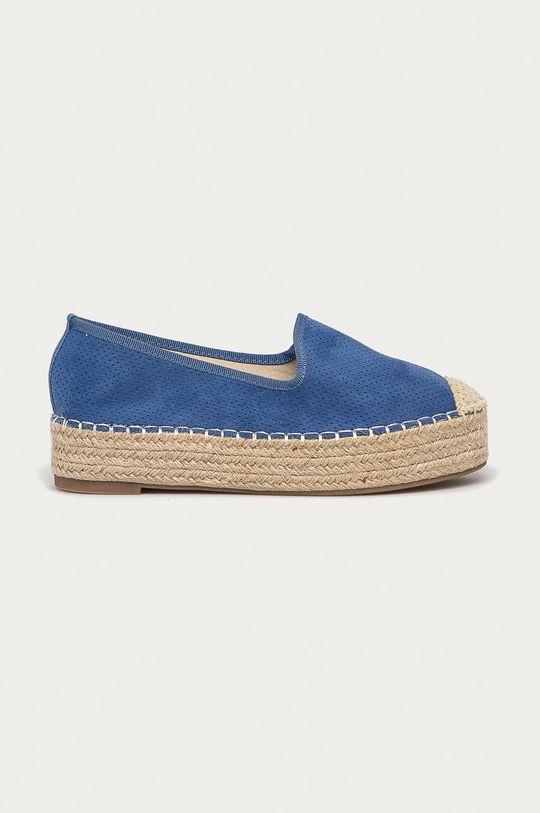 modrá Answear Lab - Espadrilky Best Shoes Dámský
