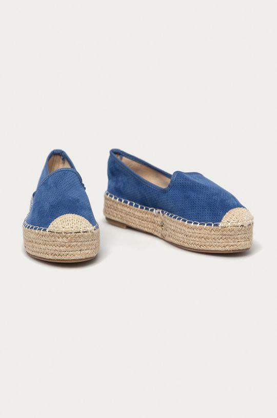 Answear Lab - Espadrilky Best Shoes modrá