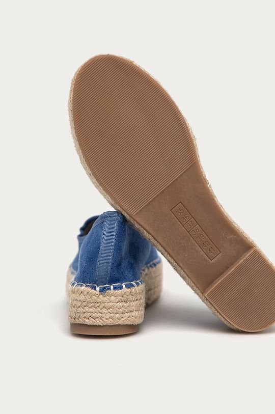 modrá Answear Lab - Espadrilky Best Shoes