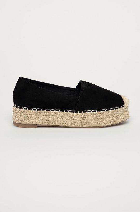 negru Answear Lab - Espadrile Best Shoes De femei