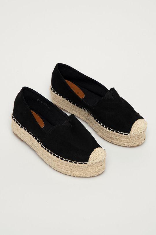 Answear Lab - Espadrile Best Shoes negru