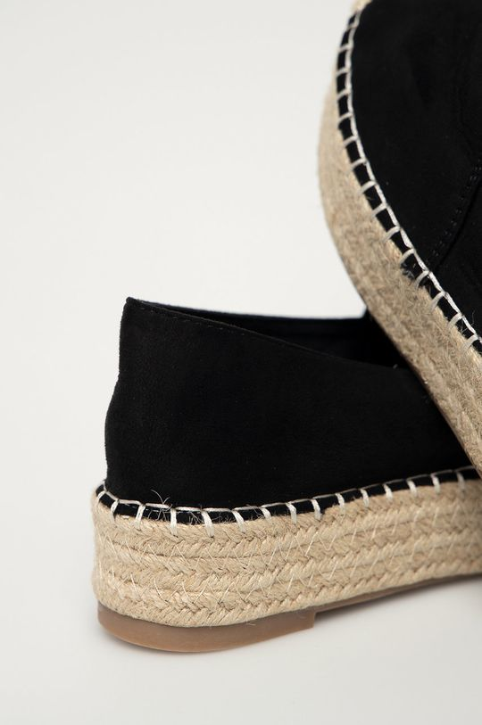 Answear Lab - Espadrile Best Shoes  Gamba: Material textil Interiorul: Material sintetic, Material textil Talpa: Material sintetic