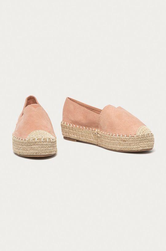 Answear Lab - Espadrilky Best Shoes pastelová ružová