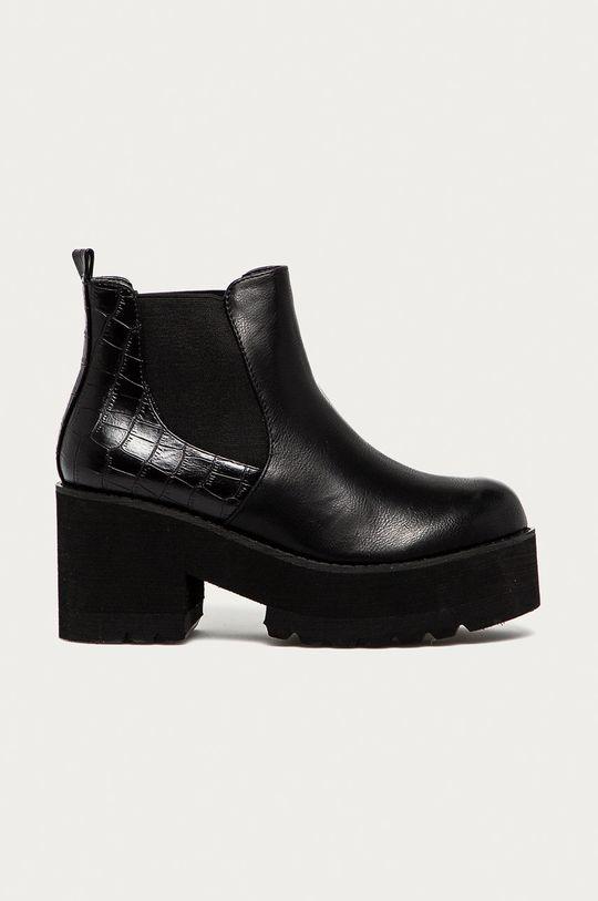 czarny Answear Lab - Sztyblety Best Shoes Damski