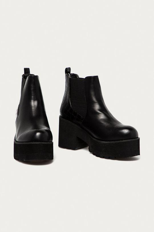 Answear Lab - Sztyblety Best Shoes czarny