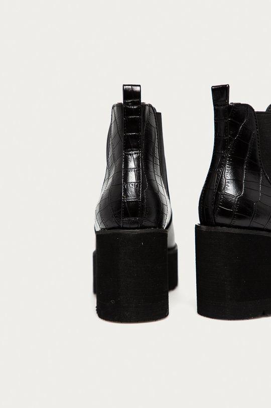 Answear Lab - Sztyblety Best Shoes Cholewka: Materiał syntetyczny, Wnętrze: Materiał syntetyczny, Materiał tekstylny, Podeszwa: Materiał syntetyczny