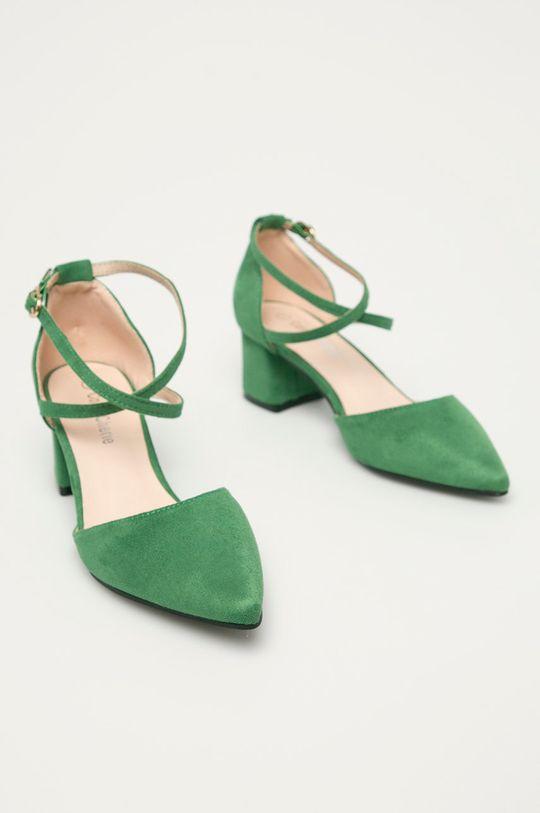 Answear Lab - Czółenka Colour Cherie zielony