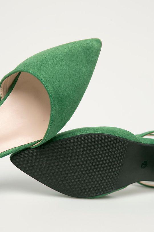 zielony Answear Lab - Czółenka Colour Cherie