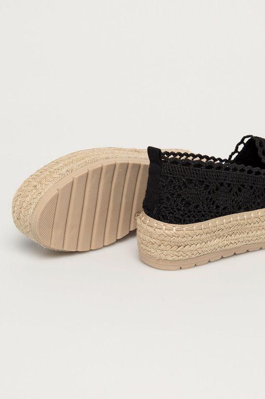 Answear Lab - Espadrilky HFShoes  Svršek: Textilní materiál Vnitřek: Umělá hmota, Textilní materiál Podrážka: Umělá hmota