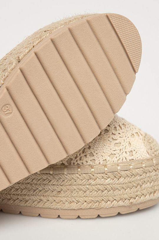 béžová Answear Lab - Espadrilky HFShoes