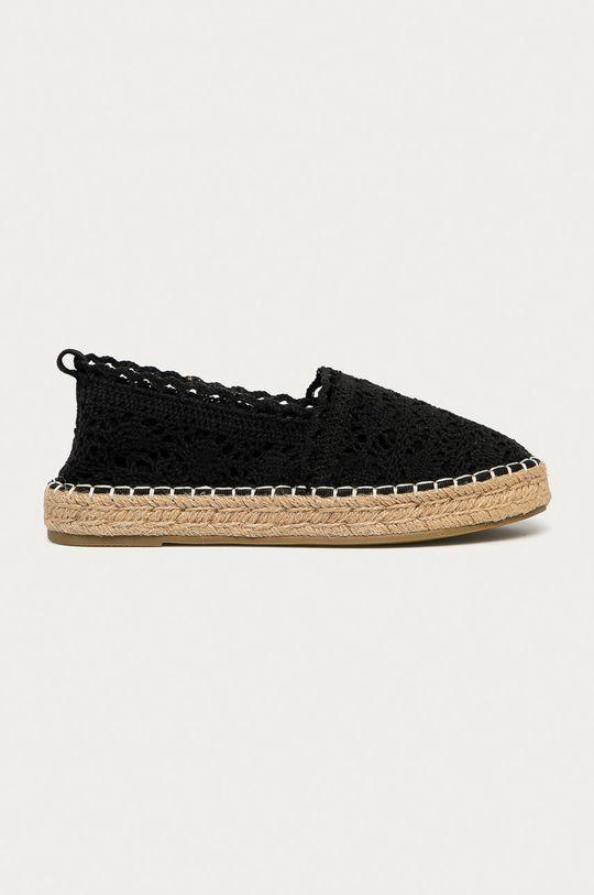 černá Answear Lab - Espadrilky HFShoes Dámský