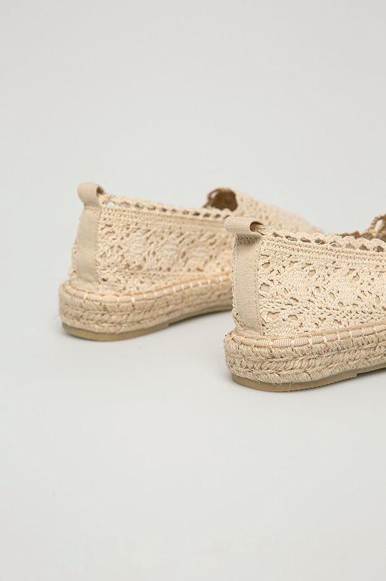 Answear Lab - Espadrilky HFShoes  Svršek: Textilní materiál Vnitřek: Textilní materiál Podrážka: Umělá hmota