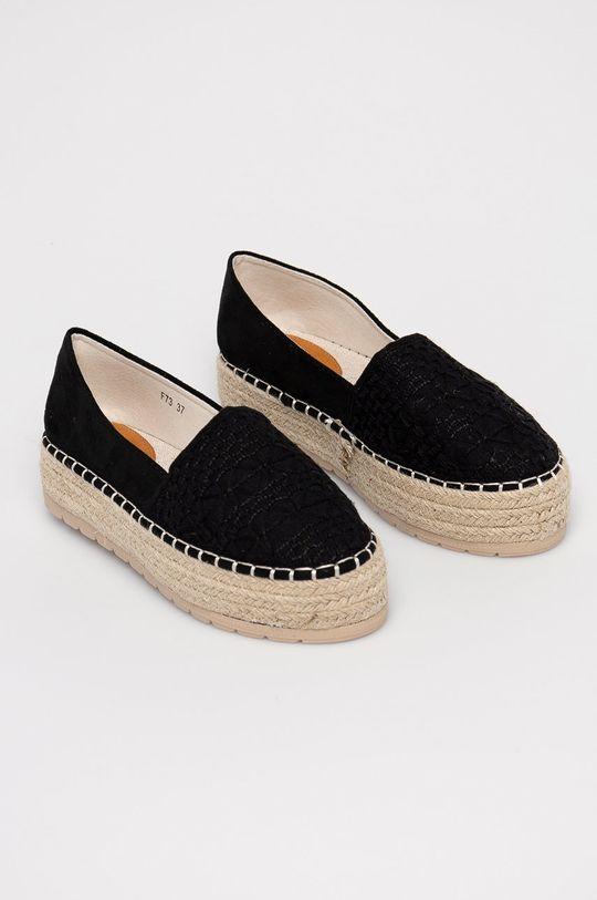 Answear Lab - Espadrilky HFShoes černá