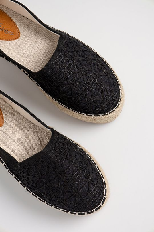 černá Answear Lab - Espadrilky HFShoes