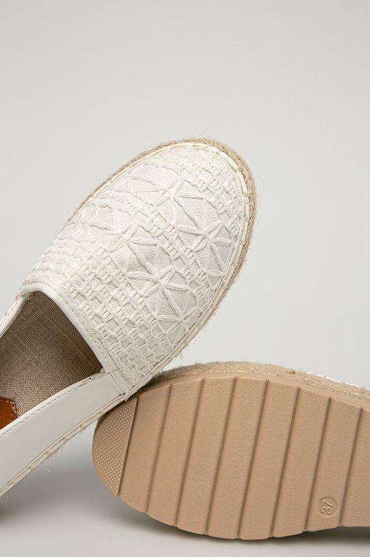 bílá Answear Lab - Espadrilky HFShoes
