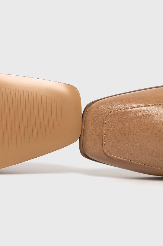 złoty brąz Answear Lab - Mokasyny