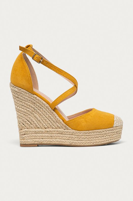 žltá Answear Lab - Espadrilky Sweet Shoes Dámsky