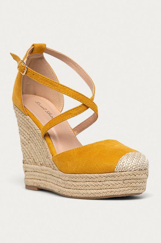 Answear Lab - Espadrilky Sweet Shoes žltá