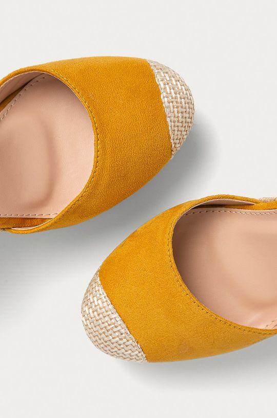 žltá Answear Lab - Espadrilky Sweet Shoes