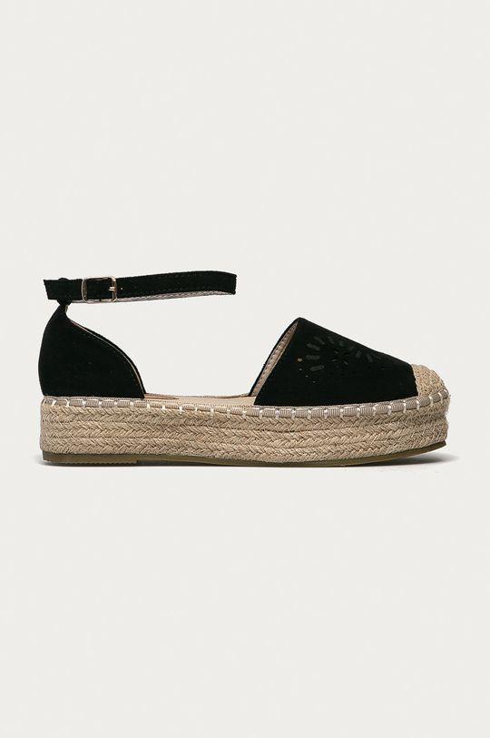 černá Answear Lab - Espadrilky Sweet Shoes Dámský