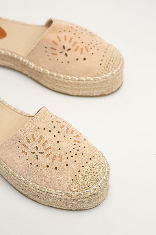 Answear Lab - Espadrilky Sweet Shoes béžová