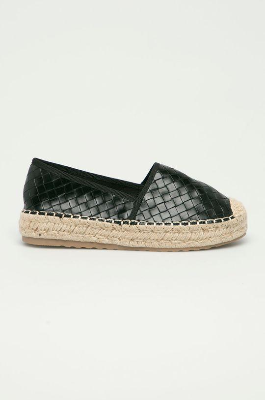 czarny Answear Lab - Espadryle Sweet Shoes Damski
