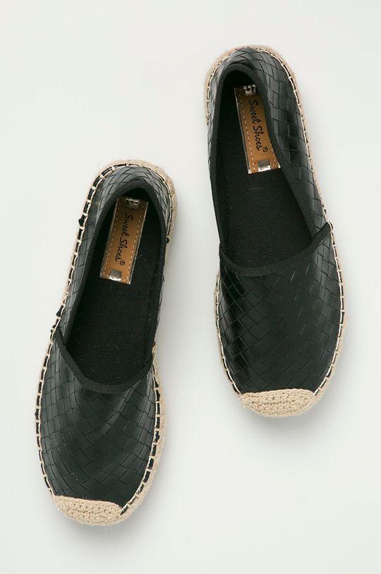 czarny Answear Lab - Espadryle Sweet Shoes