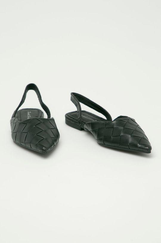 Answear Lab - Baleríny Sweet Shoes černá