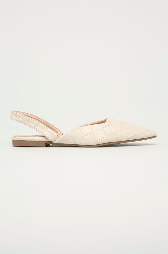 beżowy Answear Lab - Baleriny Sweet Shoes Damski
