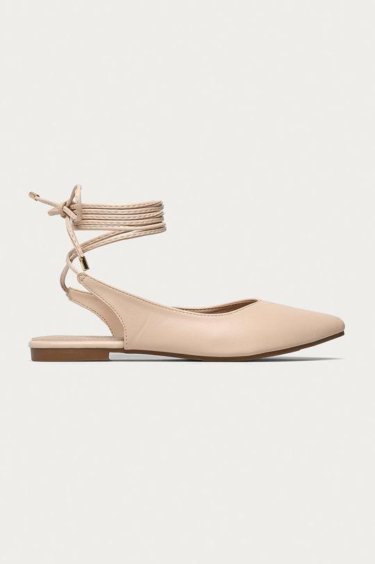 béžová Answear Lab - Baleríny Sweet Shoes Dámský