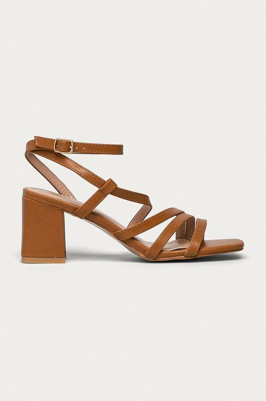 zlatohnědá Answear Lab - Sandály Sweet Shoes Dámský