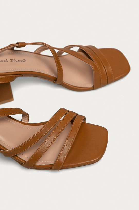 Answear Lab - Sandály Sweet Shoes zlatohnědá