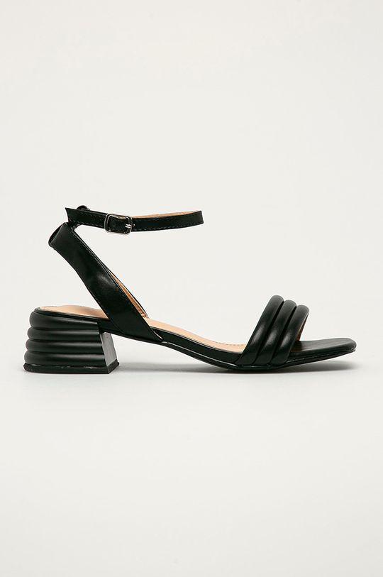 černá Answear Lab - Sandály Sweet Shoes Dámský