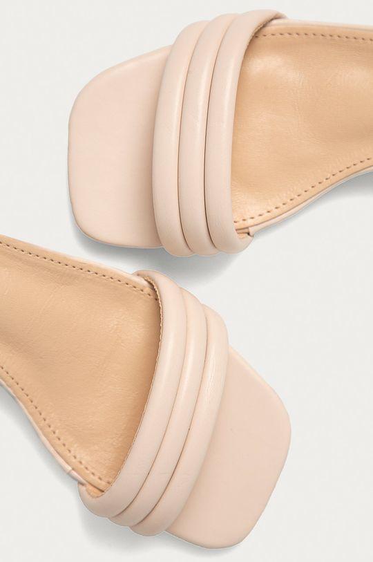 béžová Answear Lab - Sandály Sweet Shoes