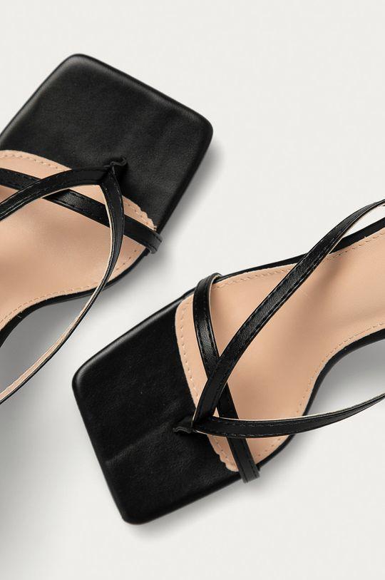 Answear Lab - Sandály Sweet Shoes černá