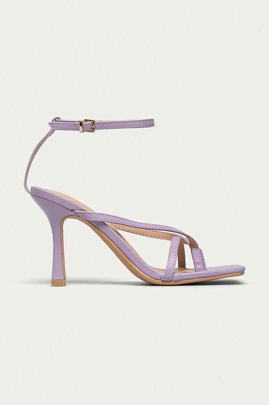 levanduľová Answear Lab - Sandále Sweet Shoes Dámsky