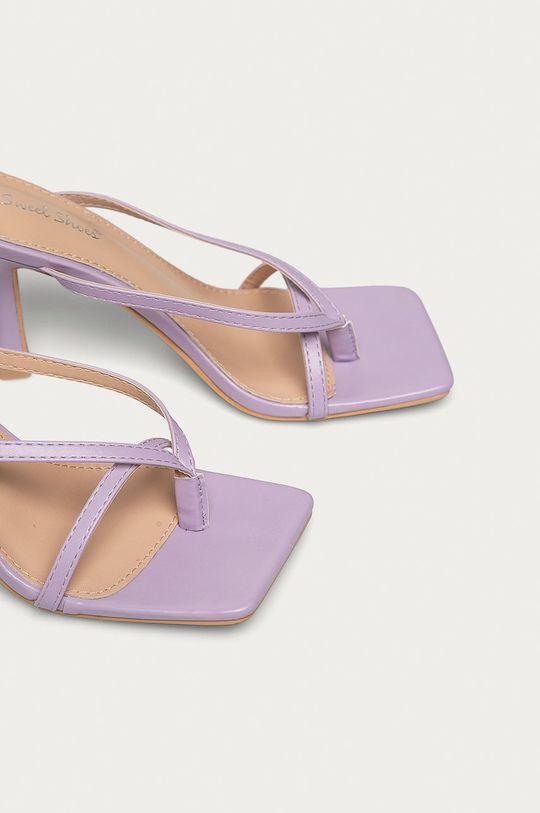 Answear Lab - Sandále Sweet Shoes levanduľová